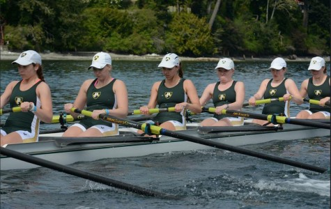 Allison Quintana has been rowing for about a year