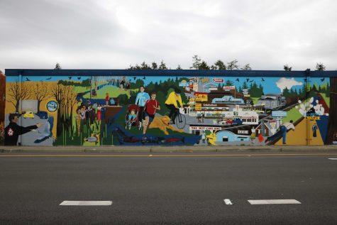 Mural makes Kenmore history