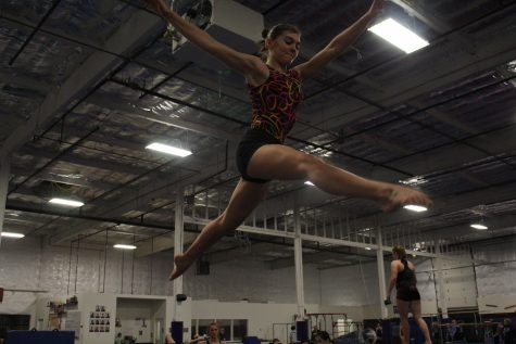 Gymnasts aspire to have a strong season