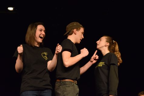 Improv team takes second in Hogan Cup
