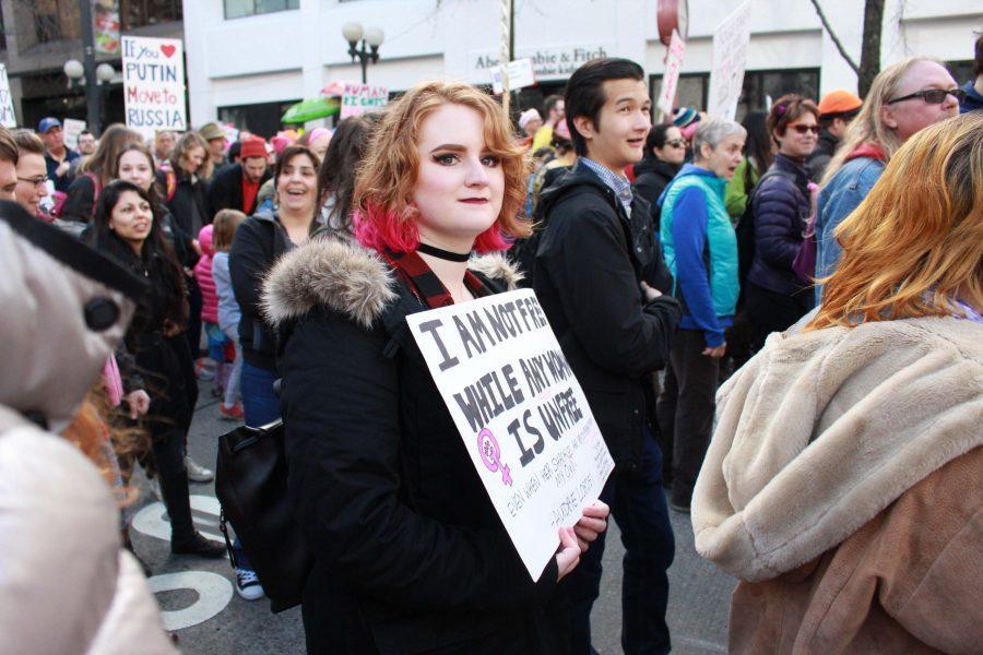 Seattle women's march sends powerful message
