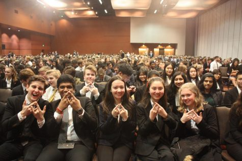 DECA claims 98 trophies at area competition