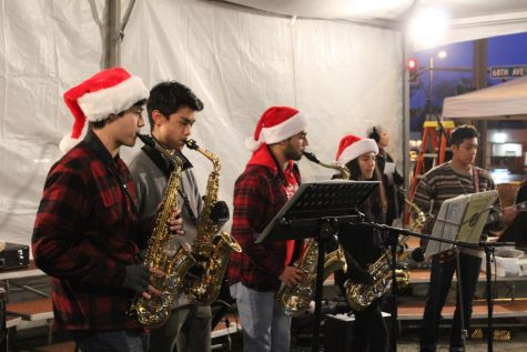SMI performs at local Christmas event