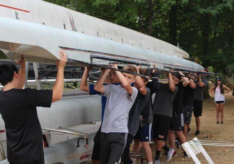 Crew rows into their first season