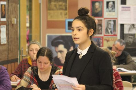 Classroom turns courtroom for weeklong mock trial