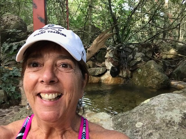 Rosenzweig enjoying a relaxing trip to Mexico. Rosenzweig says that working as a substitute allows her to continue her passion for teaching as well as to take much-needed vacations.