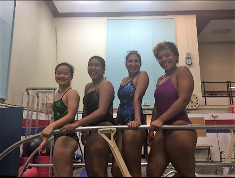 Senior swimmers serve as team role models