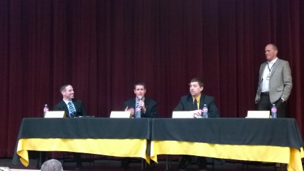 Principal finalists speak at community forum