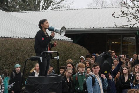 Students participate in national school walkout