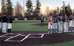 Inglemoor baseball team honors former coach with ceremony and scholarship