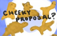 Letter to the editor: dinosaur cheeky nuggets?