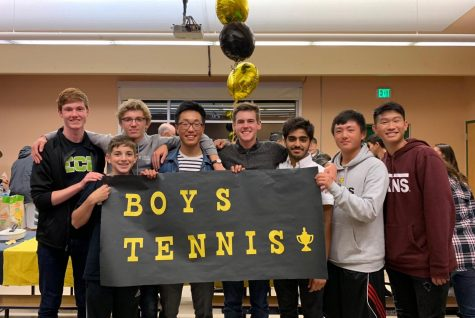 Boys varsity tennis advance to district playoffs