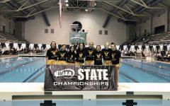 Girls swim and dive returns to state championships