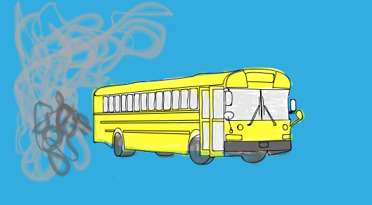 School buses emit a large amount of carbon dioxide that is harmful to the environment. How will switching to ORCA cards change this and impact transportation in general?