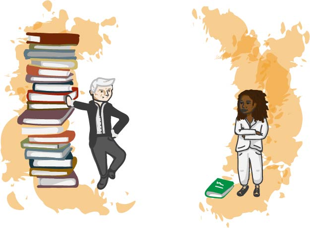 In all 11th grade English courses (English 11, AP English 11 and IB Language and Literature 11 were observed), 11 of 21 works are written by white men, American or British. Only one is written by a woman of color.