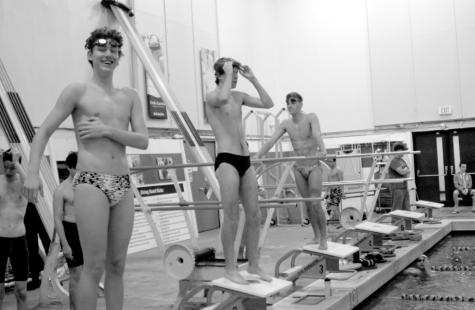 Boys swim and dive into new season