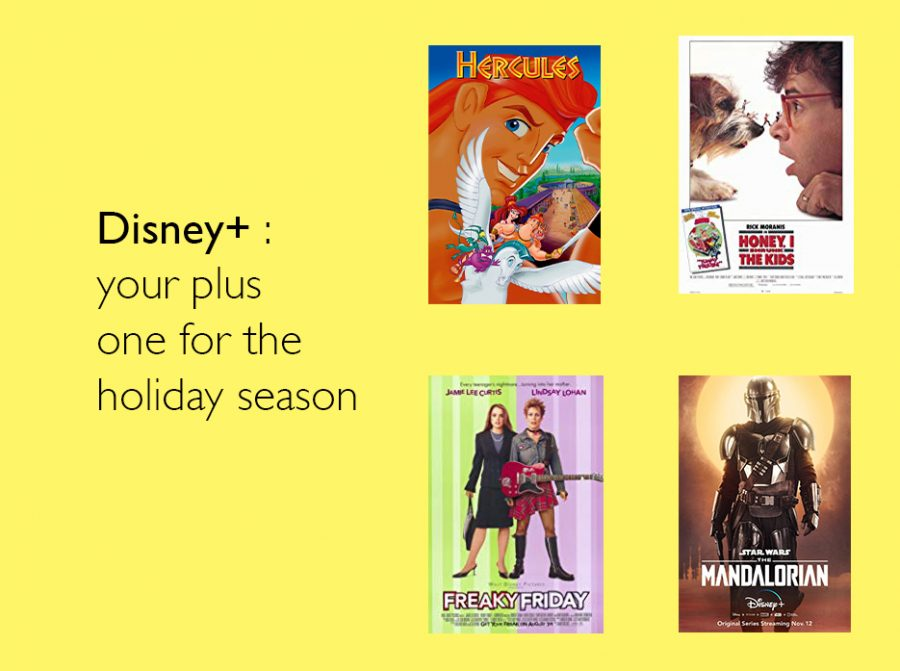Disney+: your plus one for the holiday season