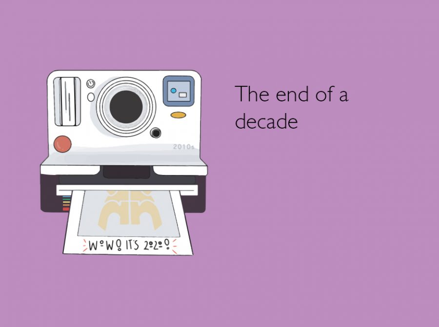 The end of the decade encapsulates the memories of many students. Art by Naomi Nam