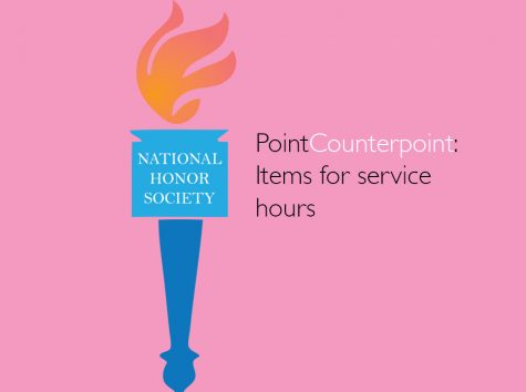 PointCounterpoint on items for hours; thumbnail graphic. Art by Naomi Nam
