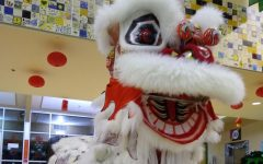 Revered lion dance brings good luck