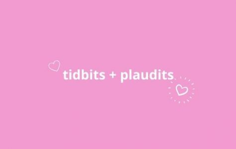 Tidbits and plaudits graphic. February 2020.