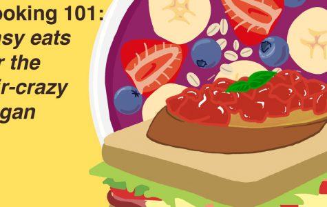 Easy eats for the stir crazy vegan