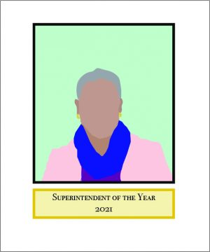 This year, NSD Superintendent Michelle Reid was honored as Washington's Superintendent of the Year by the Washington Association of School Administrators. Art by Margaret He.