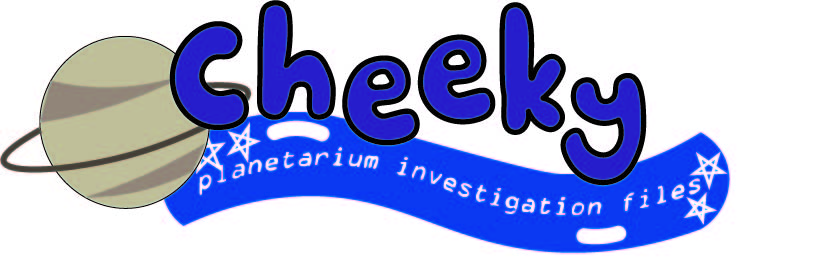 Cheeky: Planetarium Investigation Files. Art by Jana Dimikj and Kellen Hoard.
