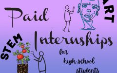 Paid internships bring classroom skills to the workplace for relevant, real-world learning. Art by Sofia Leotta.