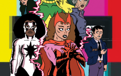 WandaVision, the first series from Marvel Studios streaming on Disney+, features a unique blend of classic television tropes and the MCU. Art by Carter Ross.