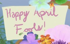 April Fools' Day may be the first time Ive been glad to be in lock down. Aside from when everyone thought we were getting a two-week break without having to make it up. April 1st is the best day for no contact with anyone. Art by Cassidy Bixby.